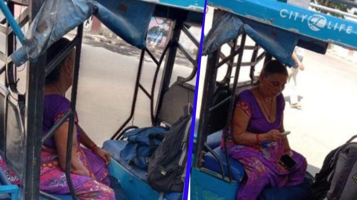 VIRAL Ibu di India Bawa Jenazah Anaknya dengan Becak, sempat Ditolak di 2 Rumah Sakit karena Penuh
