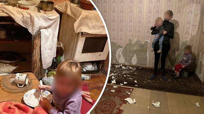 Ibu Sering Berkelahi dengan Pacar, Anak Ditelantarkan, Dibiarkan Kelaparan sampai Gerogoti Wallpaper