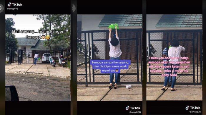 Kisah Haru Seorang Ibu Titip Makanan untuk Anak Lewat Pagar, Viral dan Tuai Simpati Netizen