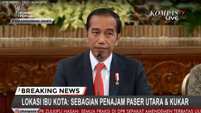Presiden Jokowi: Ibu Kota Baru Sebagian di Penajem Paser Utara & Kutai Kartanegara Kalimantan Timur