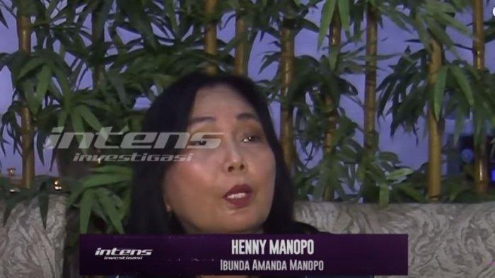 Ibunda Amanda Manopo, Henny Manopo saat ditemui oleh awak media