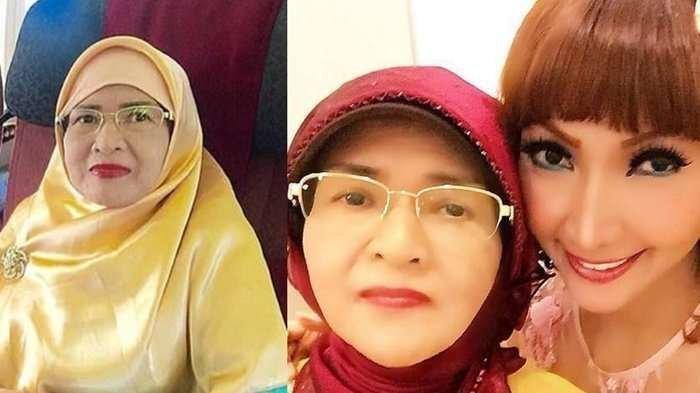 Roro Fitria dan ibundanya. Ibunda Roro, Raden Retno Winingsih meninggal dunia