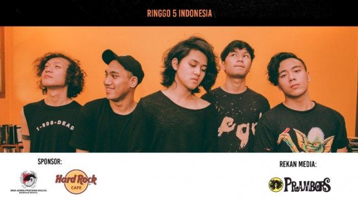 Showcase Ringgo 5, Sabtu di Hard Rock Cafe