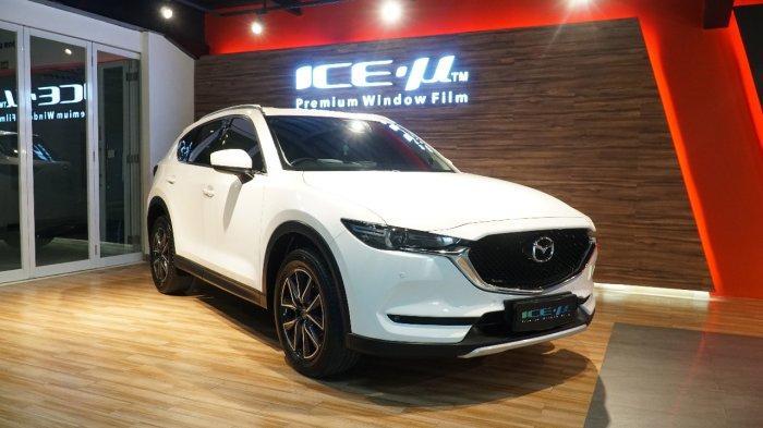 ICE-µ Jadi Kaca Film Resmi di Mobil Mazda