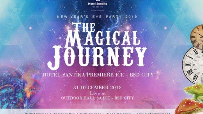 Tahun Baru Belum Ada Acara? Yuk ke Taman Fantasi Wonderland di Hotel Santika Premiere ICE – BSD City