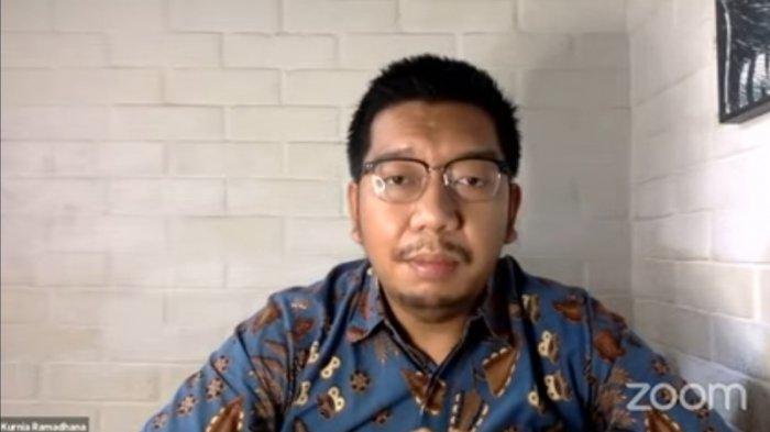 Peneliti Indonesia Corruption Watch (ICW) Kurnia Ramadhana