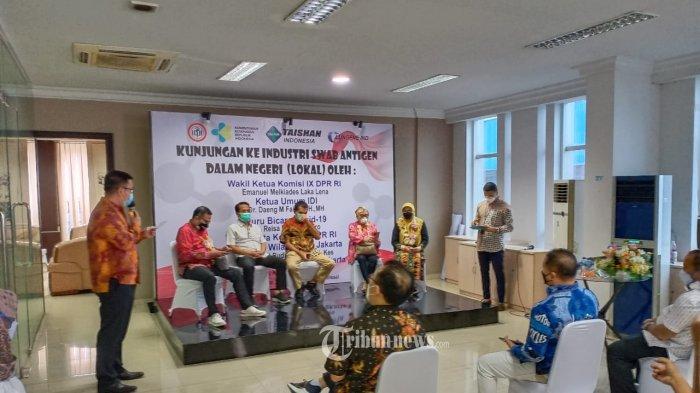 IDI Lakukan Kunjungan Kerja ke Produsen Alat Kesehatan Dalam Negeri