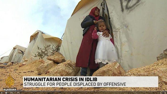 Situasi di Idlib, Suriah Sangat Buruk, Pengungsi Sebut Situasi yang Mereka Hadapi Bagaikan Hari Penghakiman