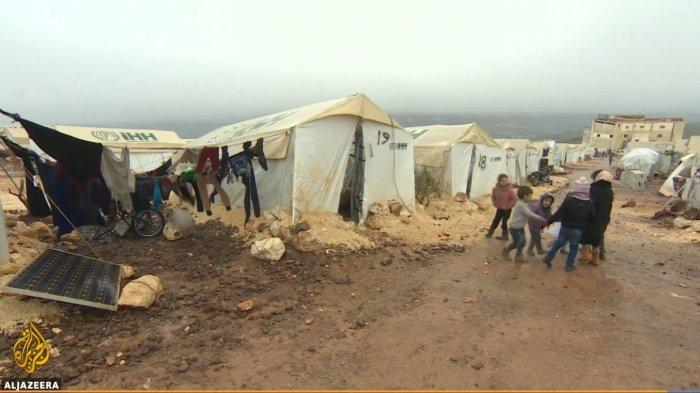 Situasi Idlib, Suriah (Tangkap Layar Al Jazeera)