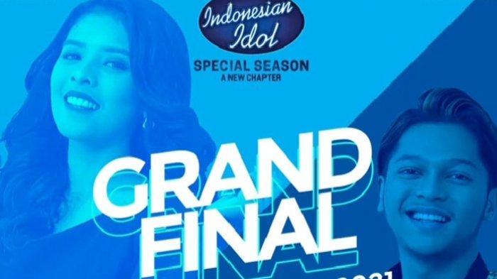 Poster Grand Final Indonesian Idol Season yang akan hadir malam ini Senin 19 April 2021 pukul 21.00 WIB live di RCTI