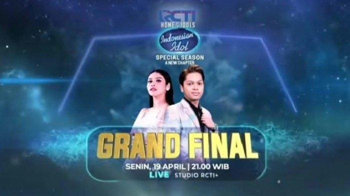 Grand Final Indonesian Idol Season yang akan hadir malam ini Senin 19 April 2021 pukul 21.00 WIB live di RCTI