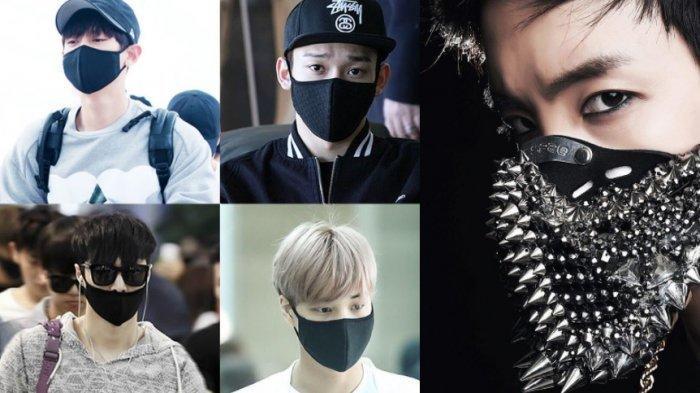 Rahasia di Balik Wajah Tertutup Masker Artis K-pop