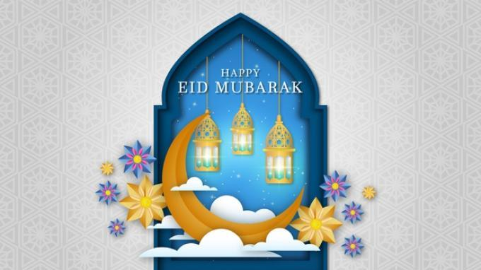 Happy Eid Mubarak (Freepik)