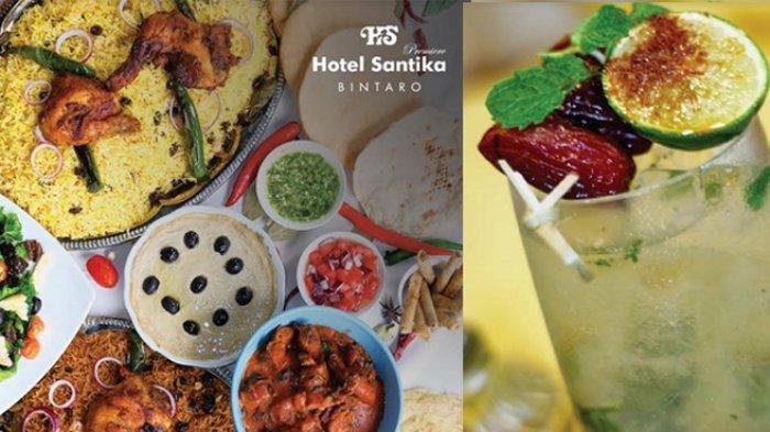 Tuntaskan Rindu Kuliner Ramadan di Program Majestic Iftar Hotel Santika Premiere Bintaro
