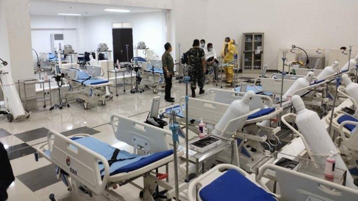 Demi Kurangi Kejenuhan Pasien, RS Darurat Covid-19 Siapkan Sarana Rekreasi di Lantai Tiga