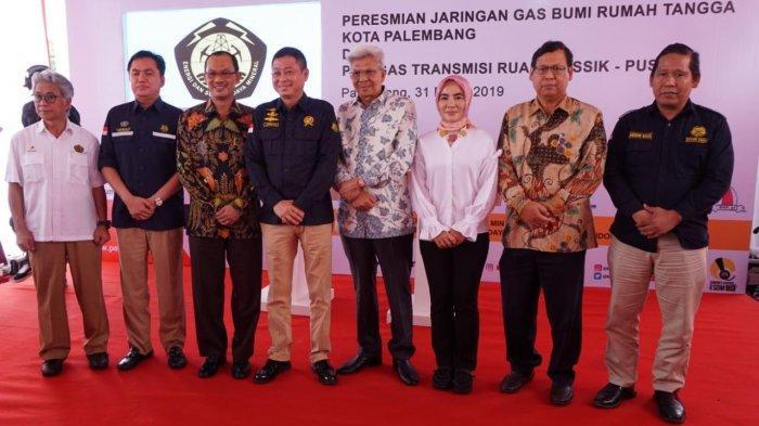 Menteri Jonan Resmikan 2 Proyek Infrastruktur Gas Strategis Sumatera Selatan