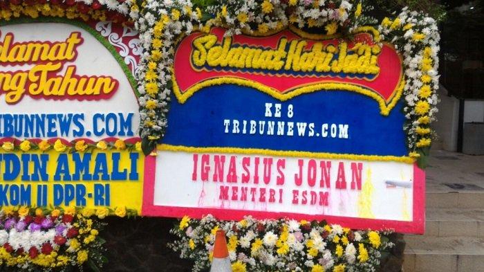 Ignasius Jonan Ucapkan Selamat HUT ke-8 Tribunnews.com