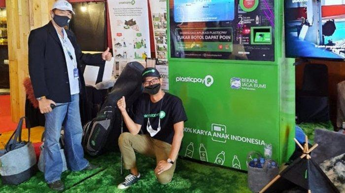IIMS Hybrid 2021: Pengunjung Kumpulkan Sampah Plastik Ditukarkan Menjadi Plasticpay Poin