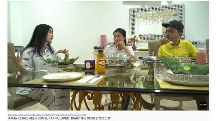 Lihat Ruben Onsu dan Iis Dahlia Bicarakan Rumah Tangga Rizki D Academy, Sarwendah Protes