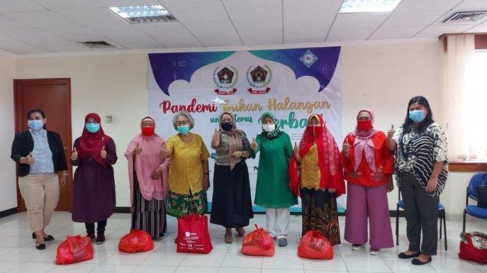 Ikatan Keluarga Wartawan Indonesia DKI Jaya Salurkan 500 Paket Sembako ke Keluarga Wartawan