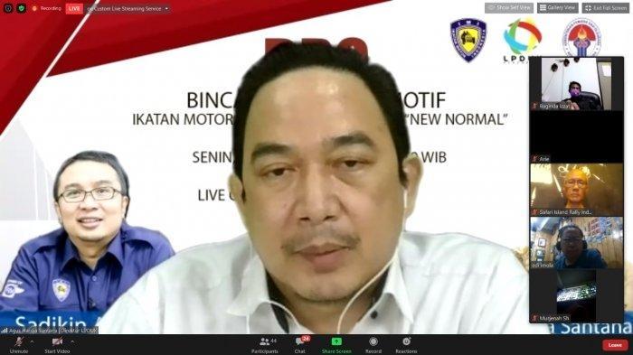 Ikatan Motor Indoesia Optimistis Digital Motor Sport Makin Booming Bersama LPDUK