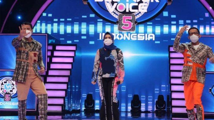 Ikke Nurjanah Kebingungan Menebak Mistery Singer di I Can See Your Voice Indonesia