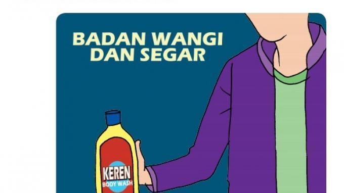 Iklan Keren Body Wash