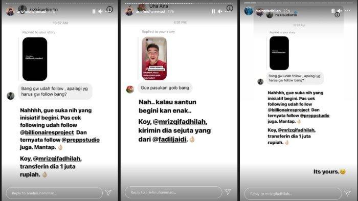 Tren ikoy-ikoyan yang dicetuskan YouTuber Arief Muhammad.