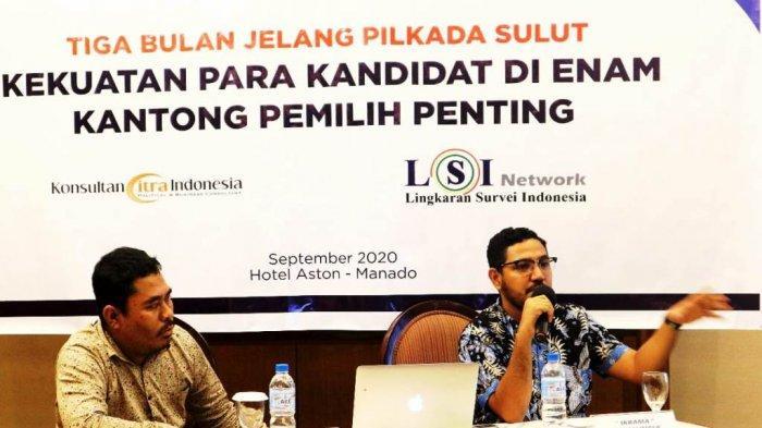 Ikrama Masloman: Elektabilitas Ketiga Pasangan Calon di Pilkada Sulut Miliki Tren Peningkatan
