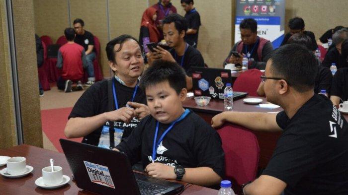 Usia Baru 12 Tahun tapi Alvin sudah Jago Bikin Game di Android