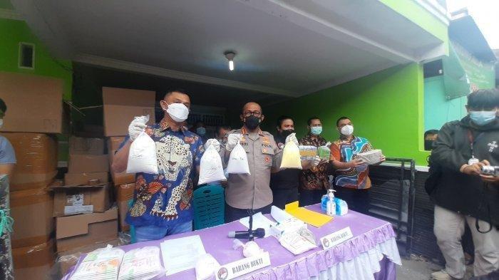 Masker Ilegal di Bekasi Dicampur Tepung Beras, Polisi Khawatir Berbahaya, Masyarakat Diminta Melapor