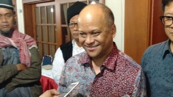 Putra pertama Bacharuddin Jusuf Habibie, Ilham Akbar Habibie saat ditemui di jalan Patra, Kuningan, Jakarta Selatan, Jumat (13/9/2019). (Kompas.com/Walda Marison)