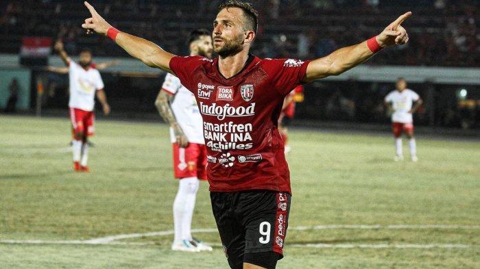 Gol Spaso Bawa Bali United Lolos 8 Besar Piala Menpora 2021 Meski Gagal Menang Lawan Persita