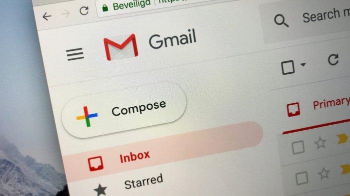 Cara Membuat Akun Gmail Lewat Ponsel Android Simak 7 Fitur Penting Dalam Aplikasi Gmail Tribunnews Com Mobile