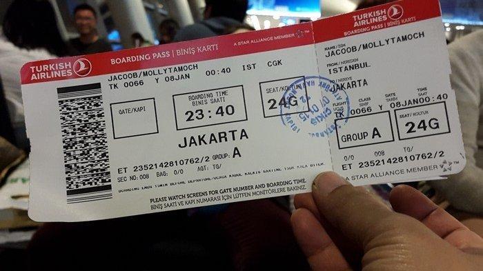Daftar Kode Nama Maskapai Penerbangan Indonesia yang Tertera pada Boarding Pass