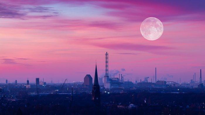 Ilustrasi - Bulan Purnama Perige Super Pink Moon (Pixabay/_freakwave_)