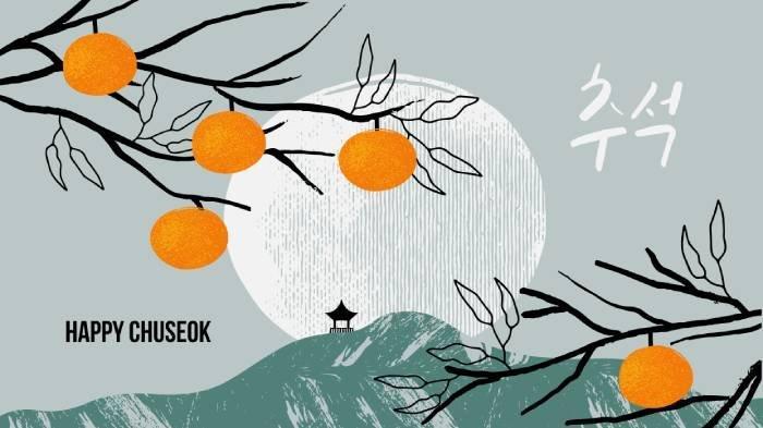 Ilustrasi Chuseok.