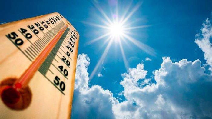 ILUSTRASI CUACA PANAS - Alasan kenapa udara terasa panas dan terik saat siang hari, BMKG memberikan penjelasan.