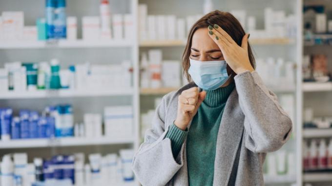 Ilustrasi flu dan pilek