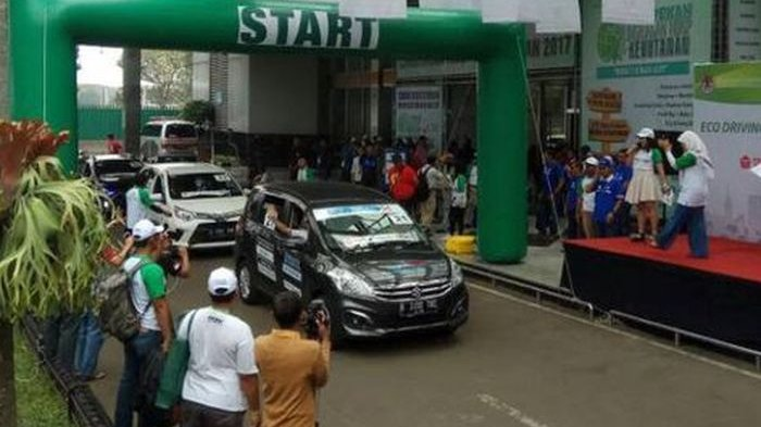 Karimun Wagon R dan Ertiga Gondol Juara Lomba Irit di Fun Rally Eco Driving 2018
