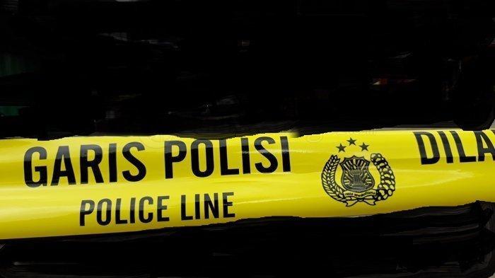 Ilustrasi garis polisi