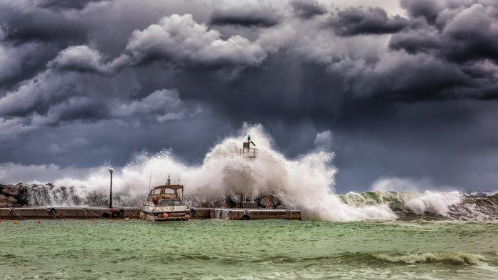 ILUSTRASI gelombang tinggi - Peringatan Dini BMKG: Waspadai Gelombang Tinggi Capai 6 Meter, Berlaku 20-23 Juli
