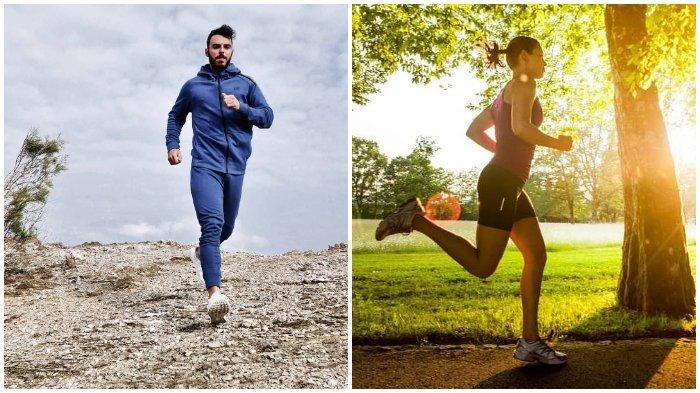 Ilustrasi Melakukan Kegiatan - Jogging