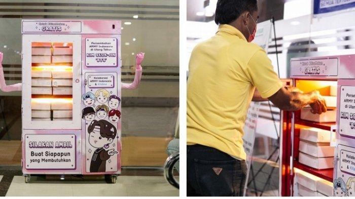 ARMY Indonesia Hadirkan Kotak BisaMakan Gratis di Perayaan Ultah Jin BTS