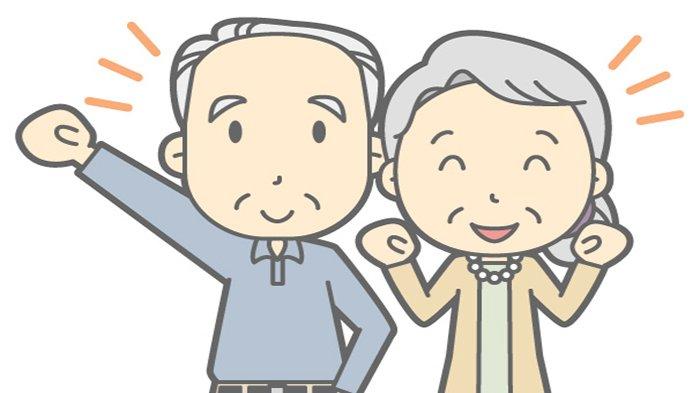 Ilustrasi para lansia - Pihak Berwenang Chile Lakukan Karantina Khusus untuk Perlambat Lonjakan Kasus Infeksi Virus Corona