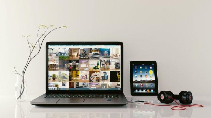 Ilustrasi Laptop Bekas