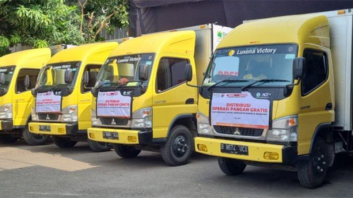 Luxena Kerahkan Armada Logistik untuk Salurkan Sapi Kurban ACT ke Warga Terdampak Pandemi