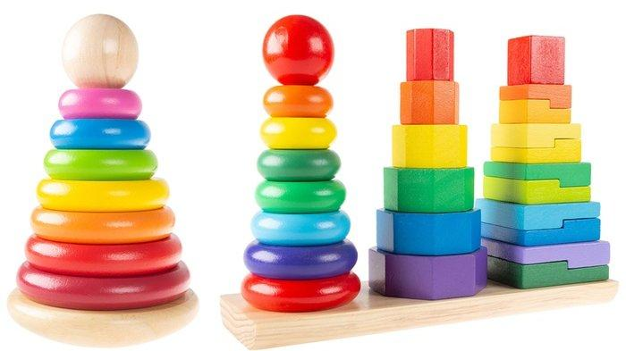 Ilustrasi mainan anak-anak