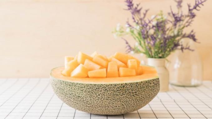 Ilustrasi manfaat melon untuk ibu hamil