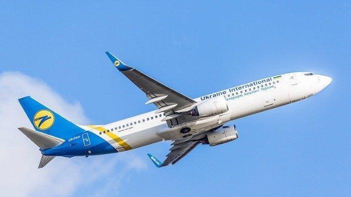 Ilustrasi maskapai Ukraine International Airlines